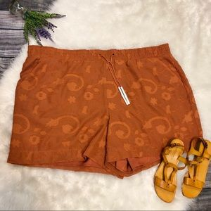 NEW Lane Bryant Floral Embroidered Tassel Shorts